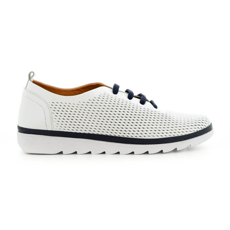 La Pinta bőr félcipő 02.07 white fehér  179159_A