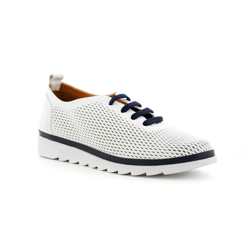 La Pinta bőr félcipő 02.07 white 179159_B.jpg
