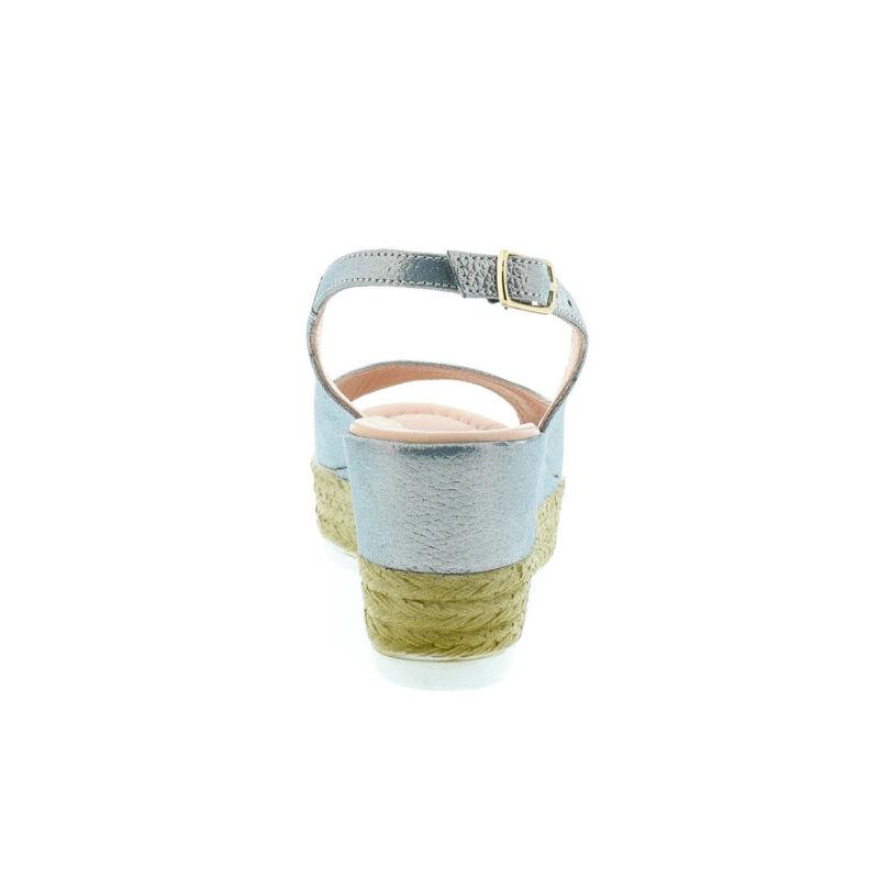 La Pinta bőr szandál E290 denim satin179163_D.jpg