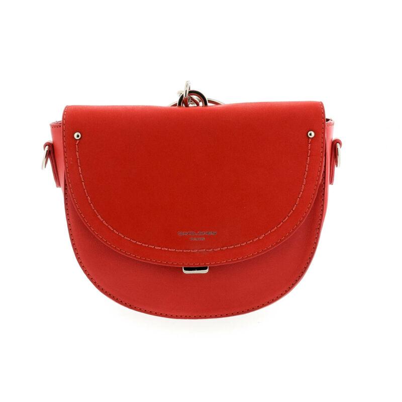 David Jones női műbőr táska red piros  179244_A
