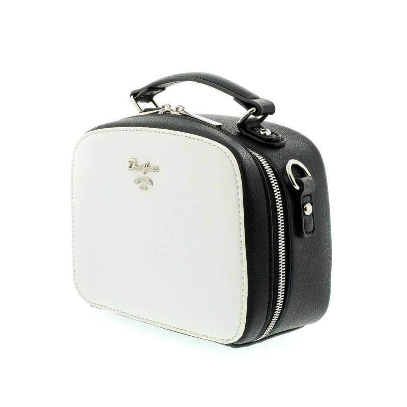 David Jones női műbőr táska white-black 179286_B.jpg