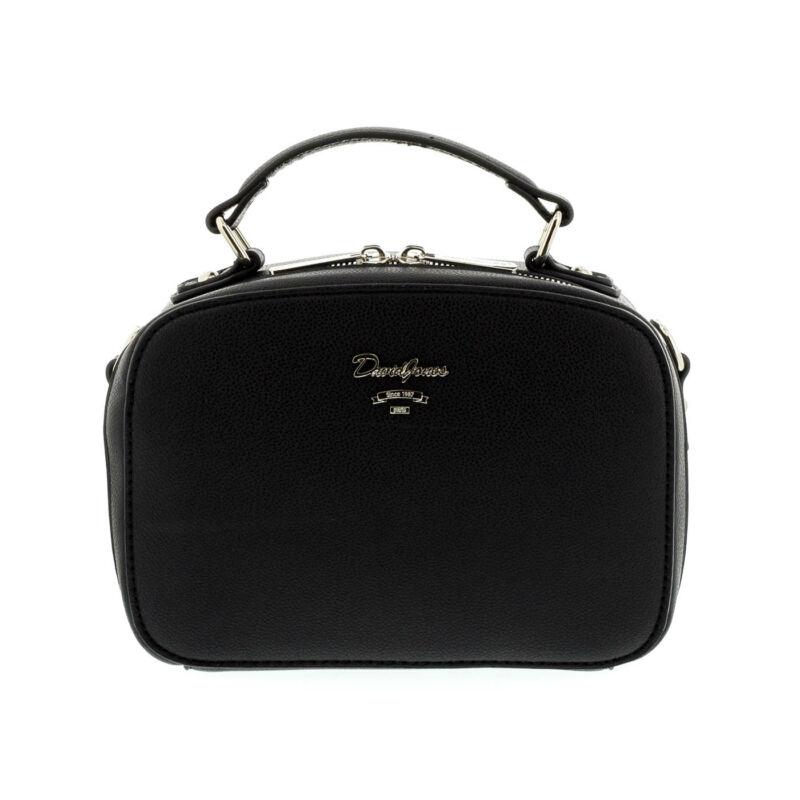 David Jones női műbőr táska black fekete  179287_A