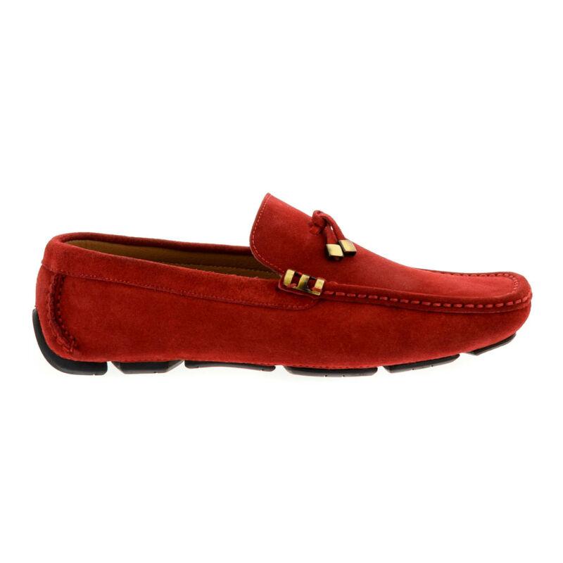 Mago férfi mokaszin red piros 43.0 179863_A