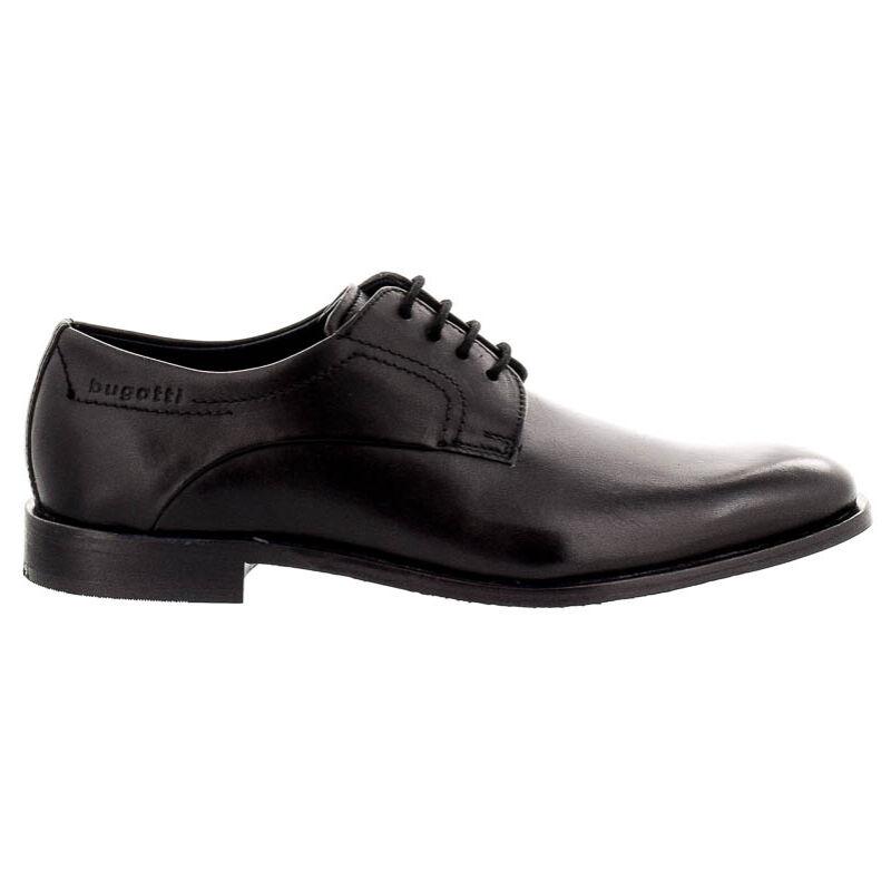 Bugatti férfi félcipő black1000 fekete  180501_A
