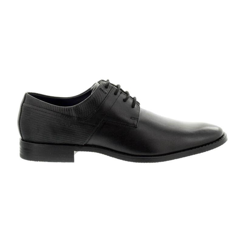Bugatti férfi félcipő black 1010 fekete  180530_A