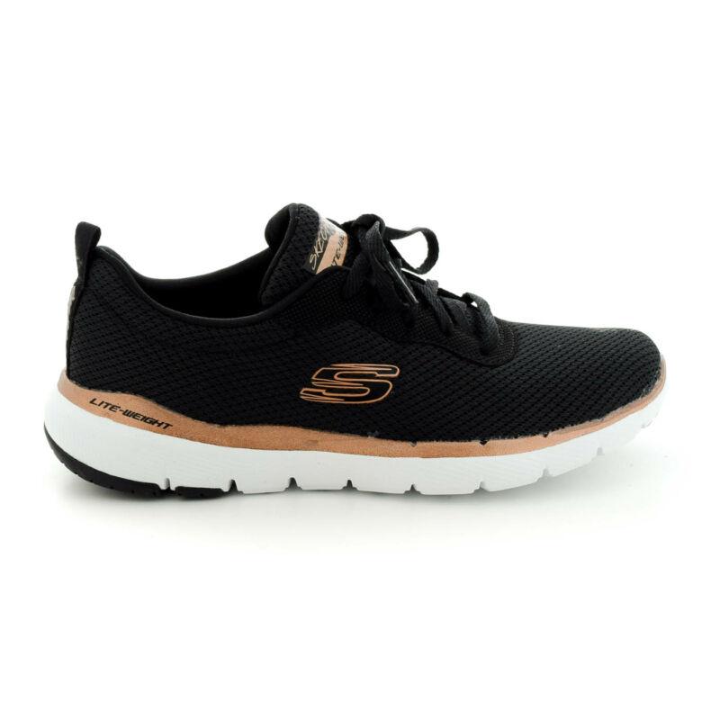 Skechers sportos félcipő BKRG  fekete  180591_A