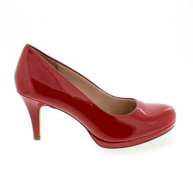 Tamaris pumps piros  180625_A