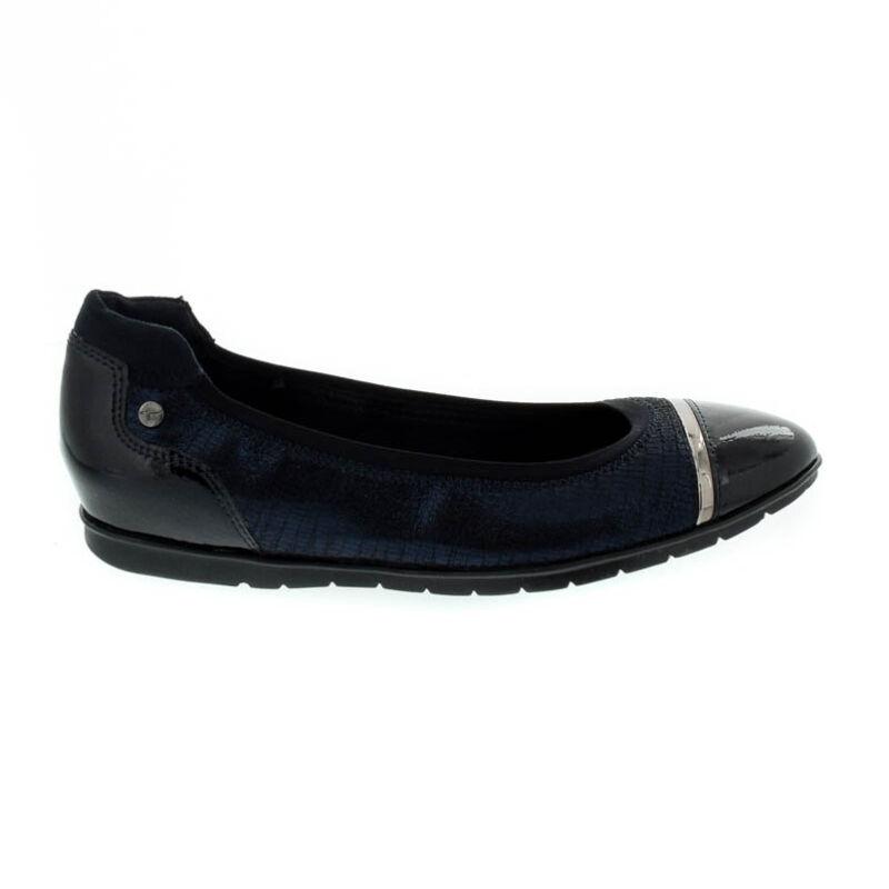 Tamaris félcipő kék  180689_A