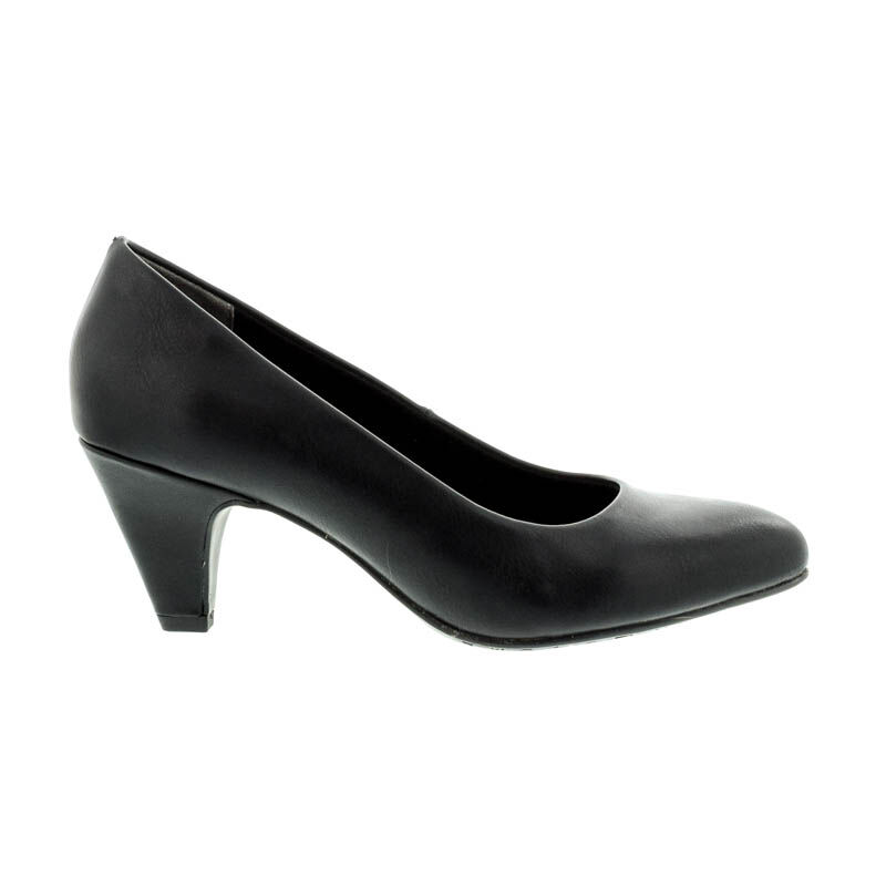 Tamaris pumps black matt020 fekete  181002_A