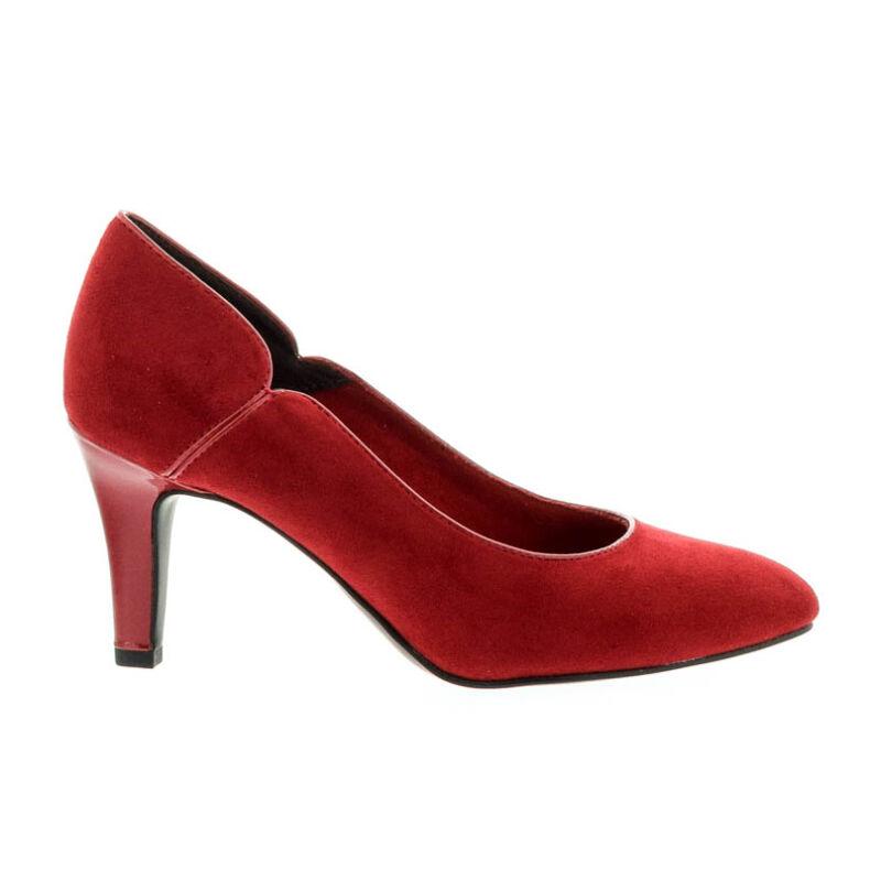 Tamaris pumps lipstick515 piros  181011_A