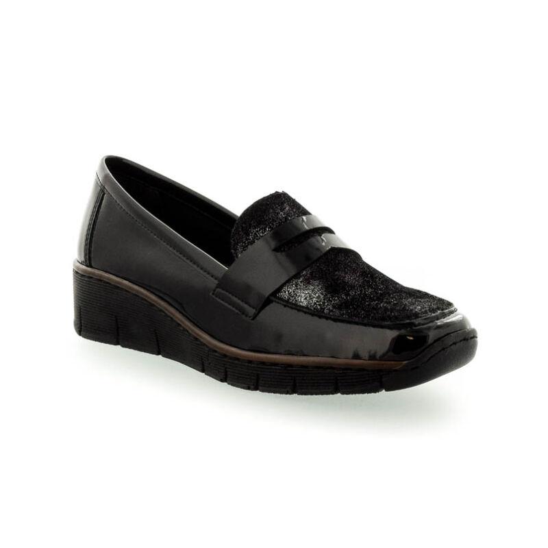 Rieker női félcipő schwarz01 36-41 181460_B.jpg