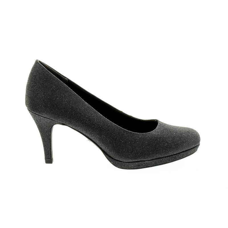 Tamaris pumps black glam043 fekete  181646_A