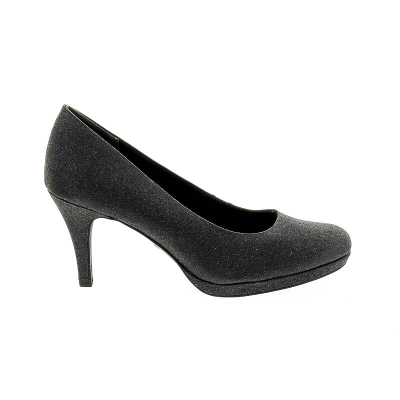 Tamaris pumps black glam043 fekete 38.0 181646_A