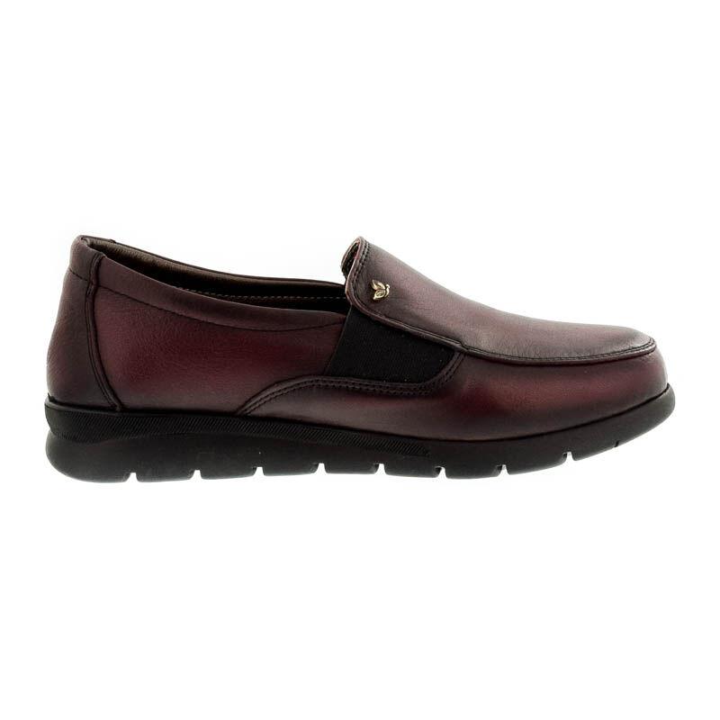 Iloz bőr cugos félcipő red leather  bordó  181836_A