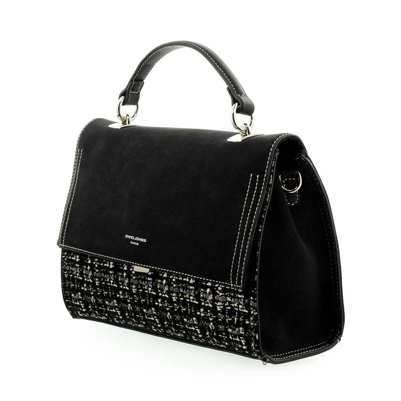 David Jones női műbőr táska black 182244_B.jpg