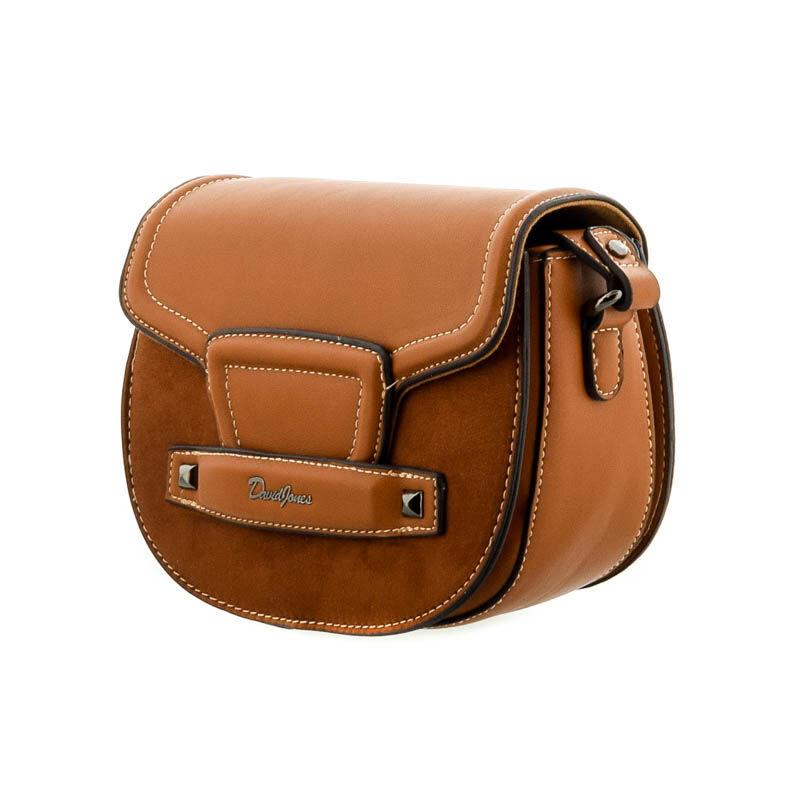 David Jones női műbőr táska cognac 182292_B.jpg