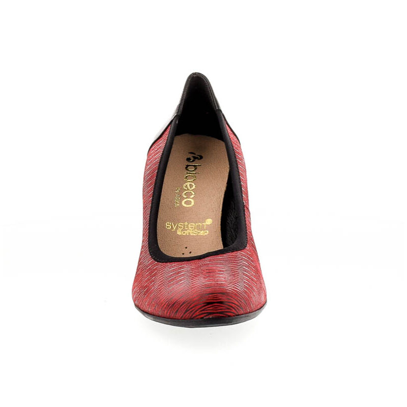 Bioeco bőr pumps 1238+0083 piros 182355_C.jpg