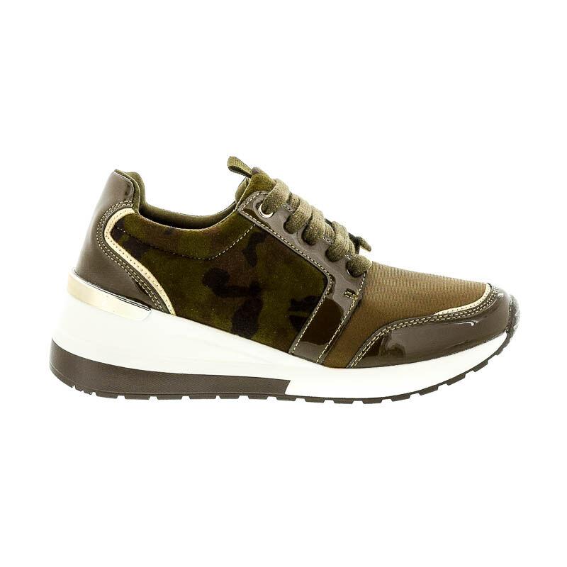 Menbur sneaker camuflage 0079 keki  182545_A