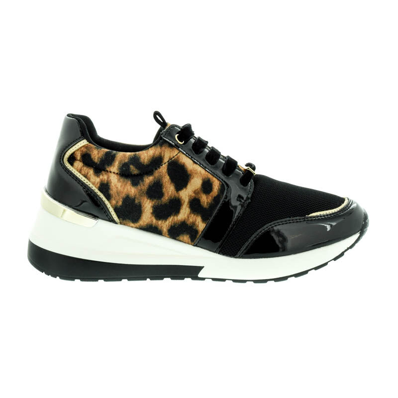 Menbur sneaker animal print 0012 fekete  182546_A