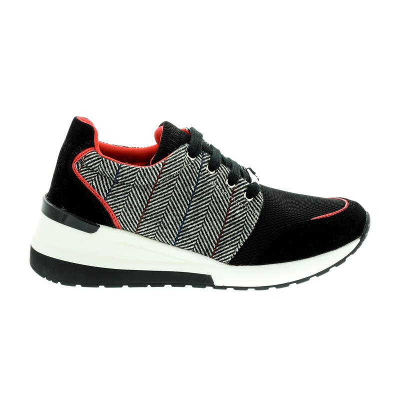 Menbur sneaker black white 0016 fekete  182550_A