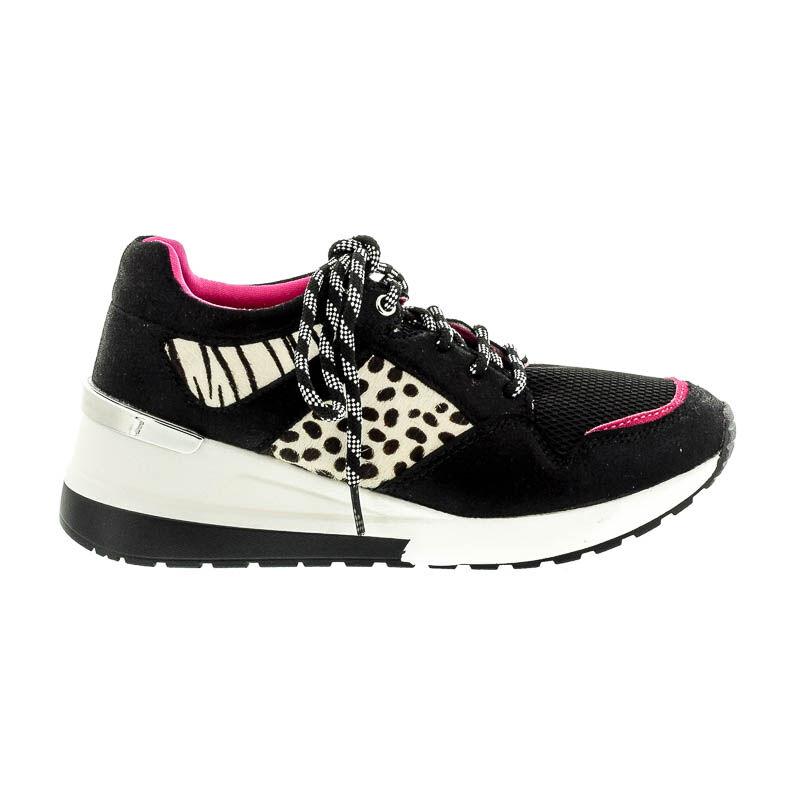Menbur sneaker black white fekete  182557_A