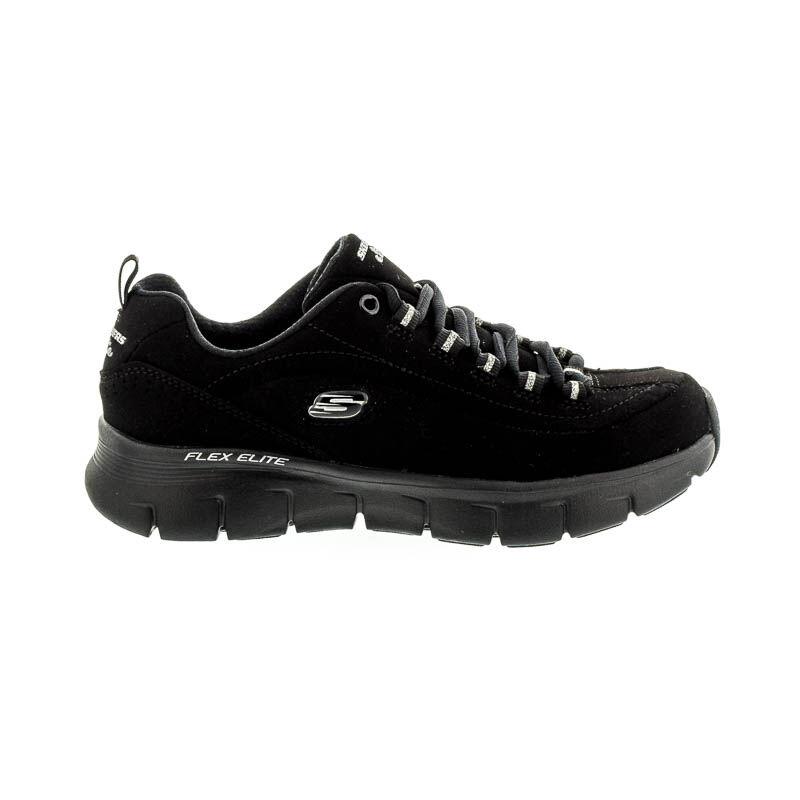 Skechers félcipő black  fekete  182574_A