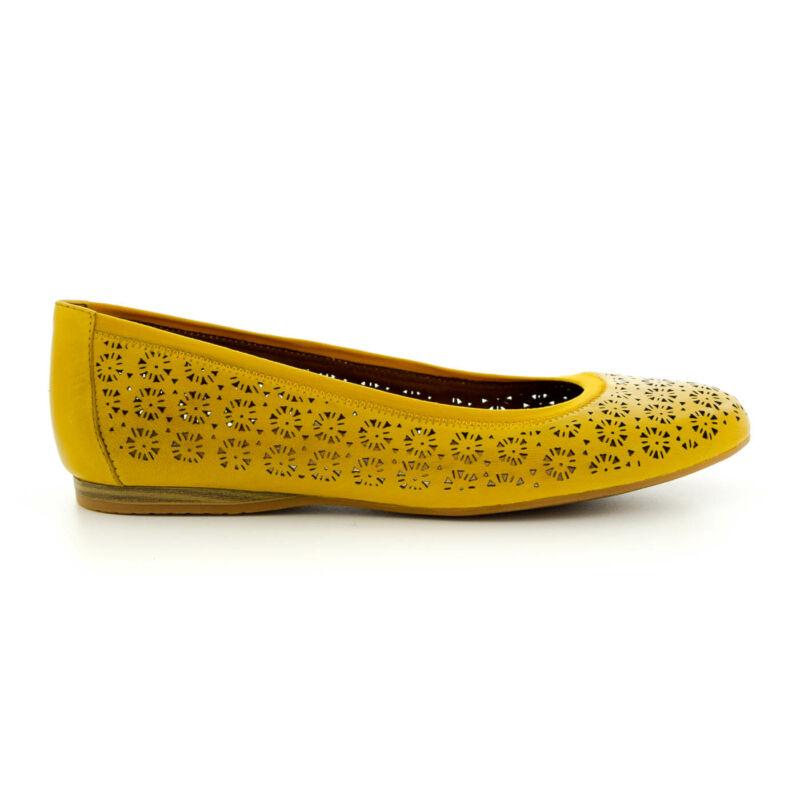 Tamaris  félcipő sun602  sárga  183567_A