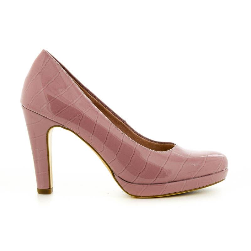 Tamaris pumps mauve croc.pat573 rózsaszín 37.0 183638_A
