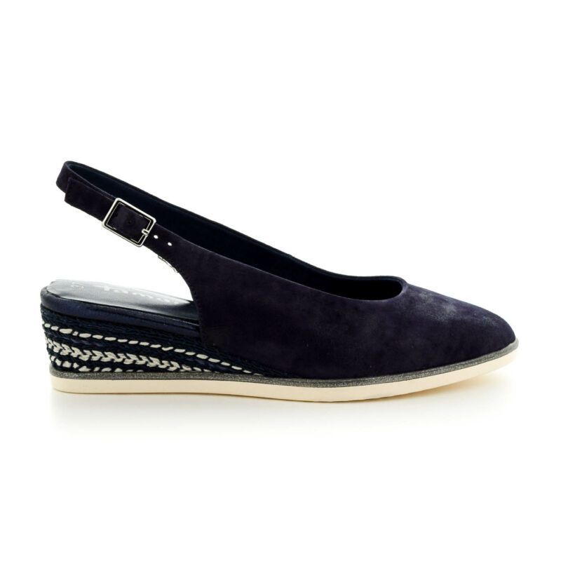 Tamaris sling navy pearl877 kék  184015_A