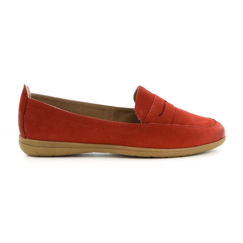 Jana félcipő red500 piros  184192_A