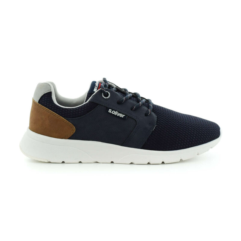 S.Oliver férfi sportcipő navy805 kék  184344_A