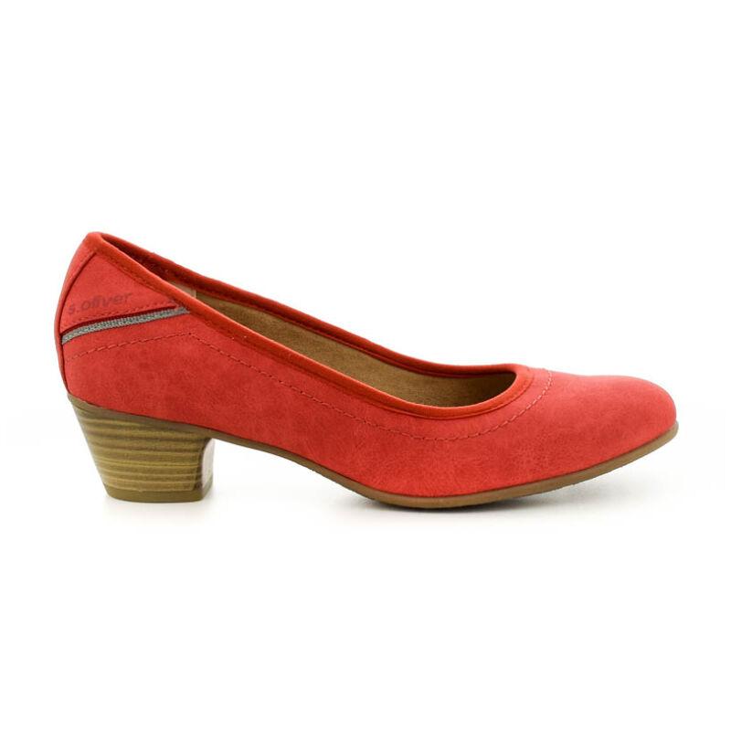 S.Oliver női pumps red500 piros 37.0 184353_A