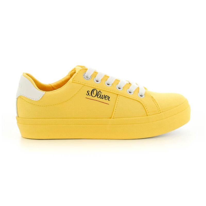 S.Oliver női sportcipő yellow600 sárga  184378_A