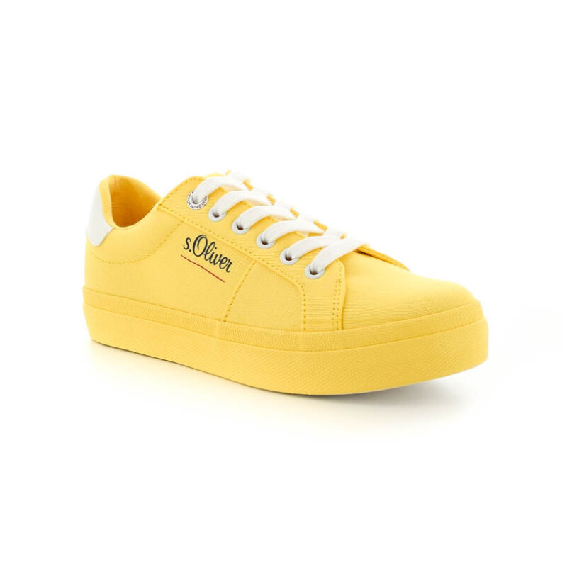 S.Oliver női sportcipő yellow600 184378_B.jpg