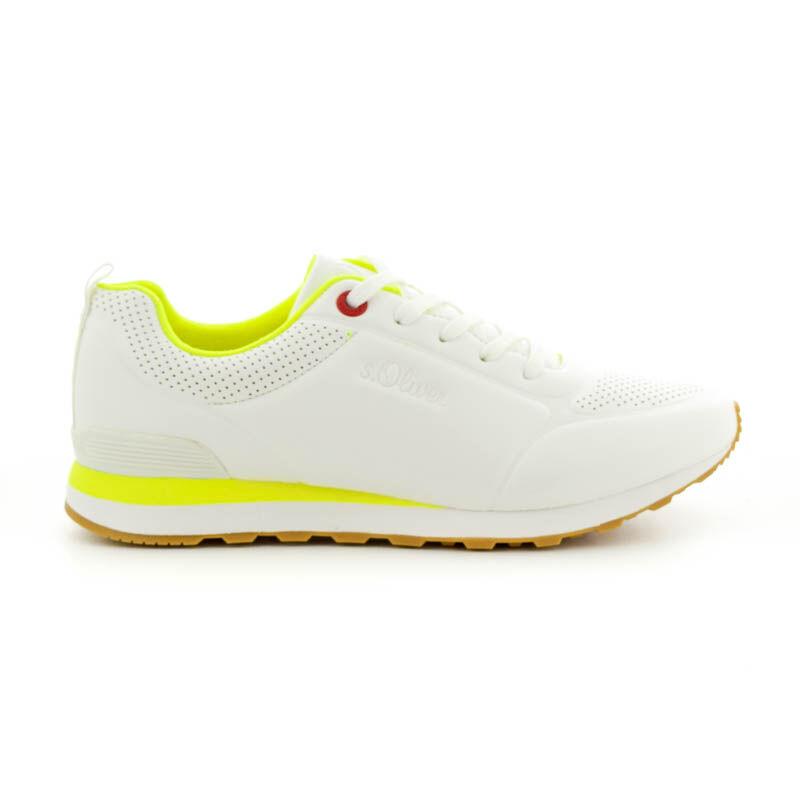 S.Oliver női sportcipő white100   fehér  184395_A