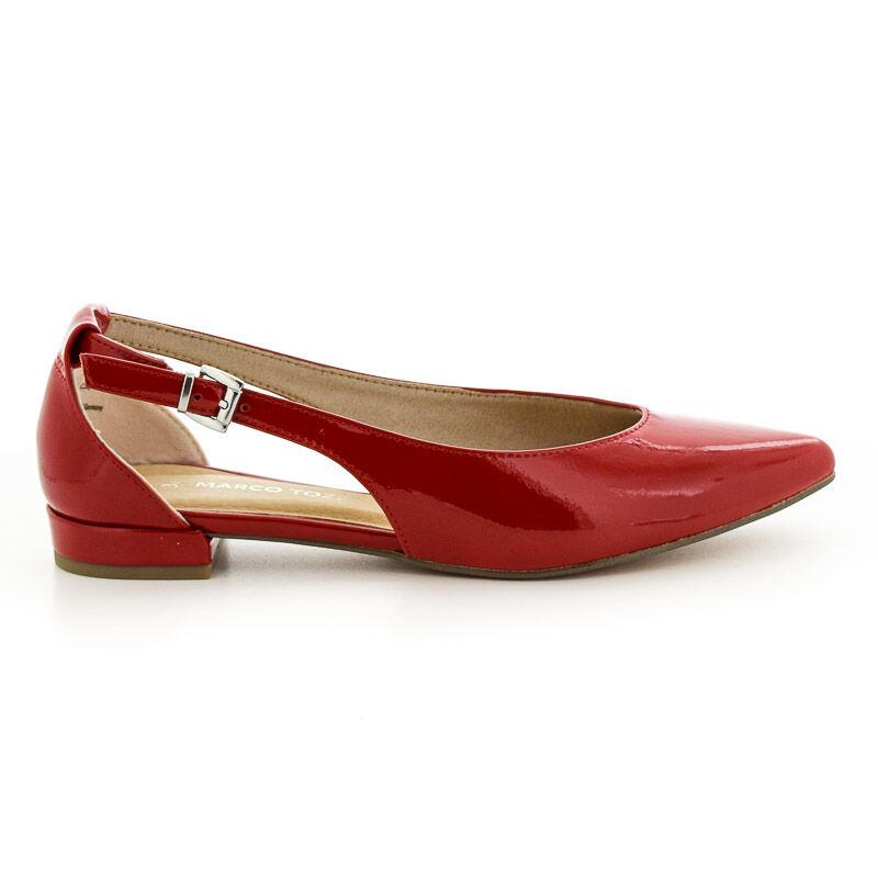 Marco Tozzi nyitott félcipő red piros  184402_A