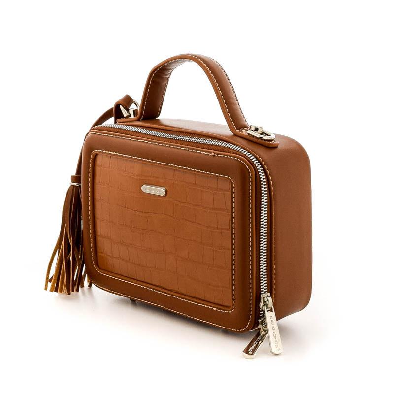David Jones női műbőr táska cognac 184780_B.jpg