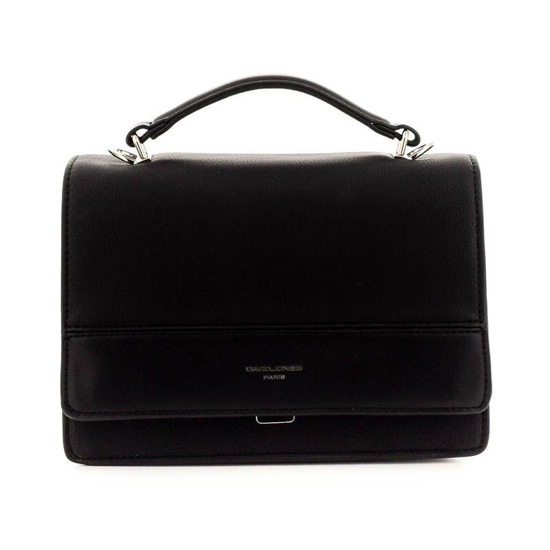 David Jones női műbőr táska black fekete  184781_A