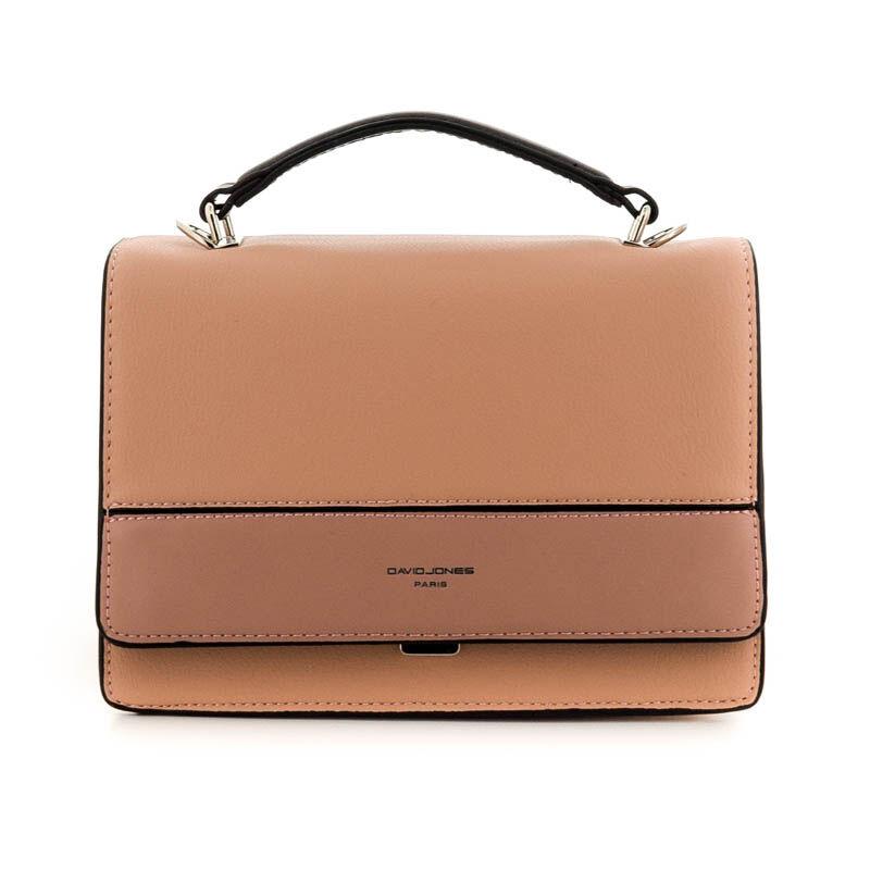 David Jones női műbőr táska pink rózsaszín  184782_A