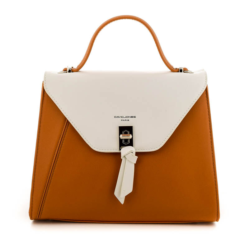 David Jones női műbőr táska cognac barna  184798_A