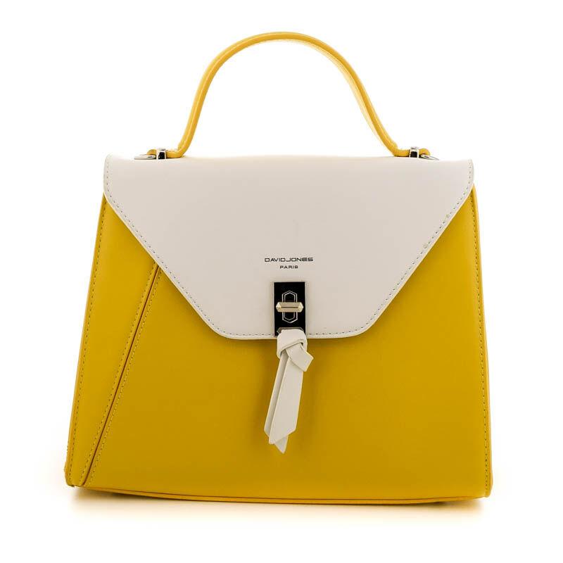 David Jones női műbőr táska yellow sárga  184800_A