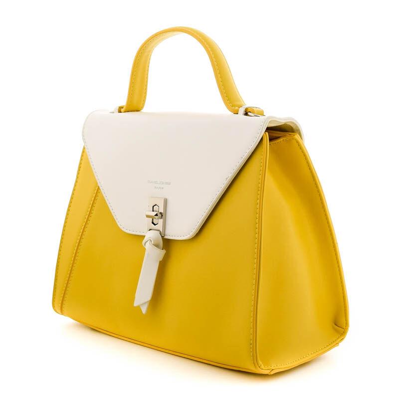 David Jones női műbőr táska yellow 184800_B.jpg