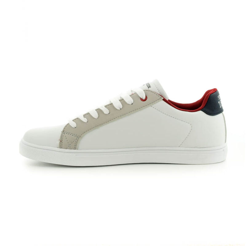 U.S.Polo fűzős sneaker  white  185177_C.jpg