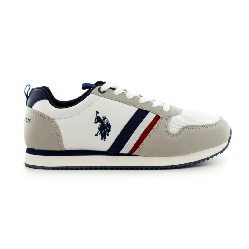 U.S.Polo fűzős sneaker white  fehér  185179_A