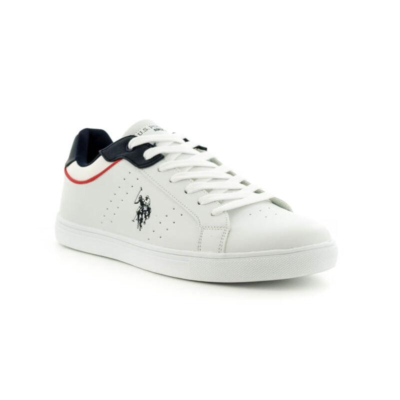 U.S.Polo fűzős sneaker white-d.blue 185181_B.jpg