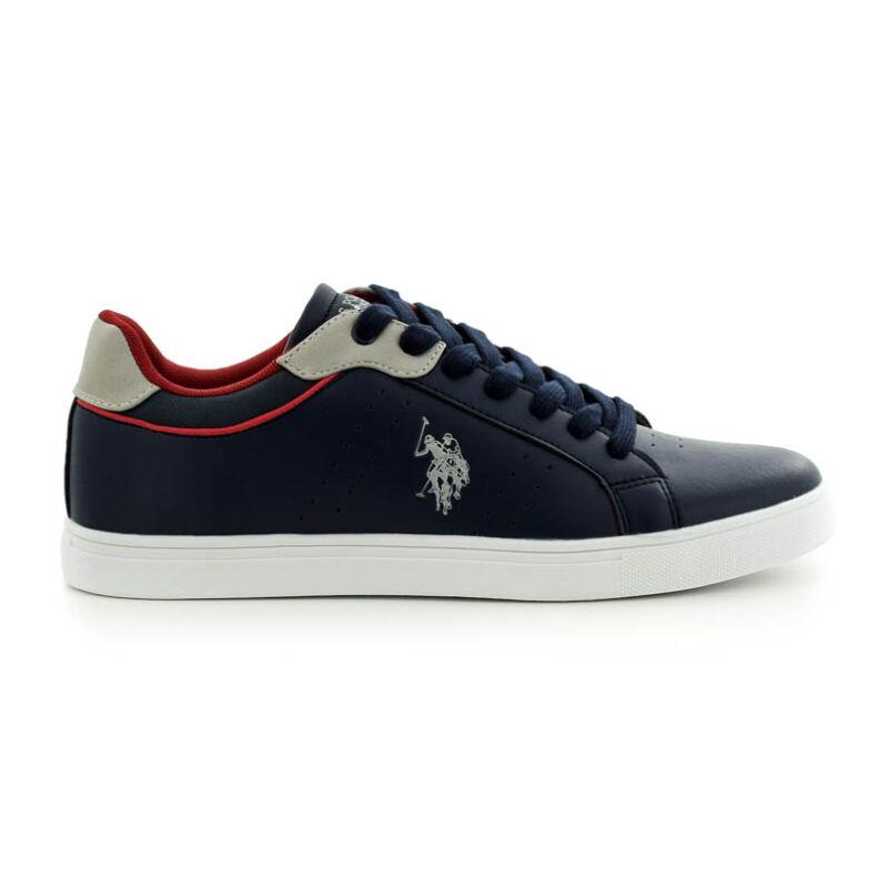 U.S.Polo fűzős sneaker dark blue kék  185182_A