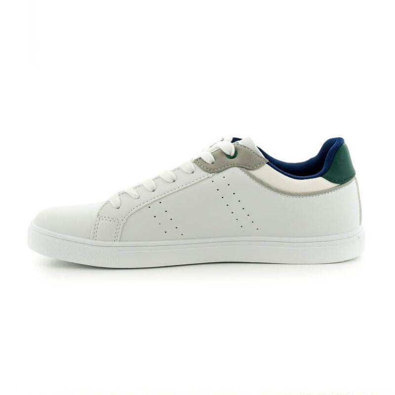 U.S.Polo fűzős sneaker white-green 185183_C.jpg