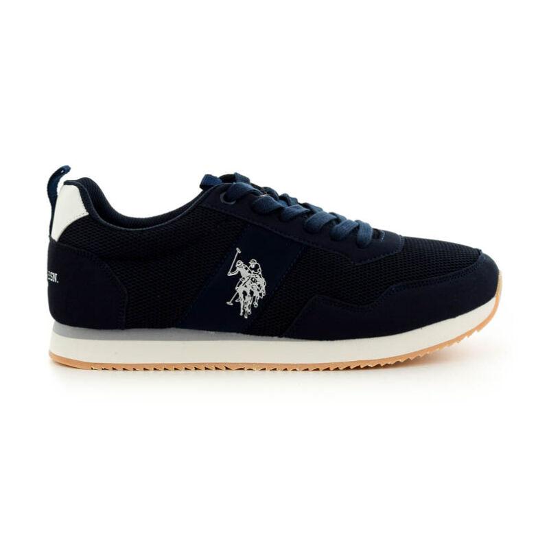 U.S.Polo fűzős sneaker dark blue kék  185185_A
