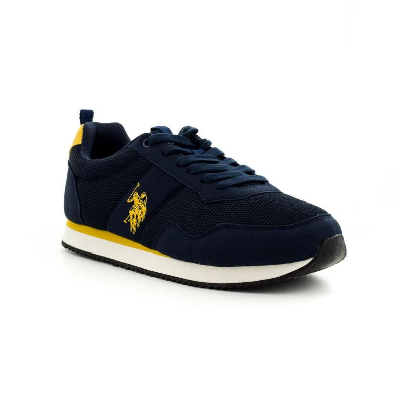 U.S.Polo fűzős sneaker dark blue-yellow 185188_B.jpg