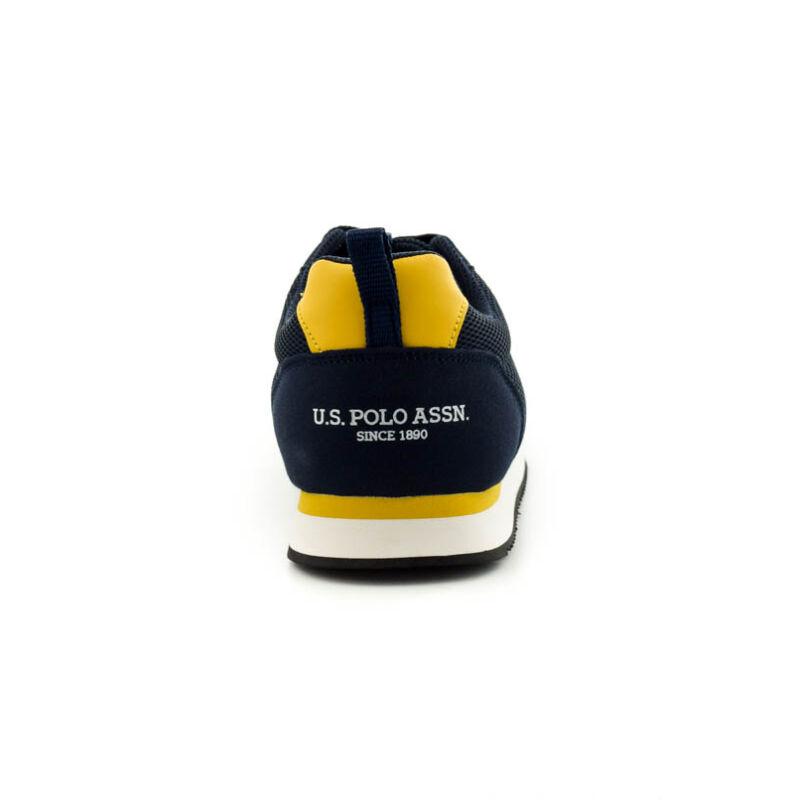 U.S.Polo fűzős sneaker dark blue-yellow185188_D.jpg